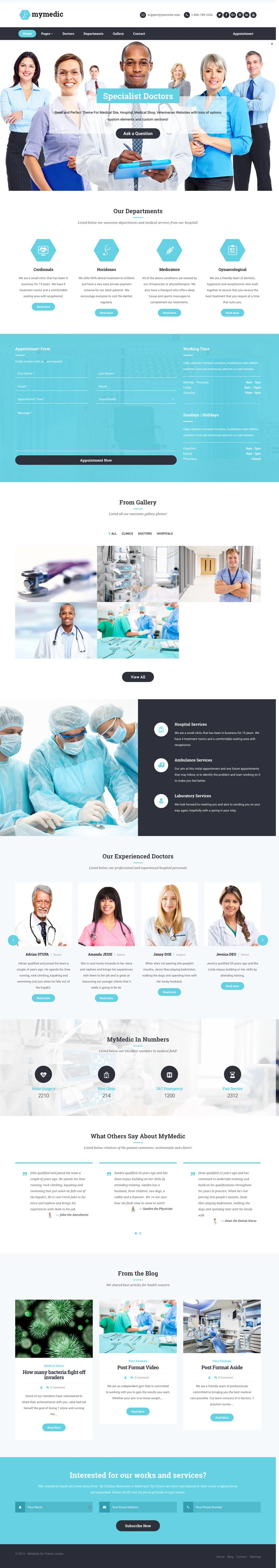 MyMedic-WordPress-Hospitals-&-Health-Clinics-Theme