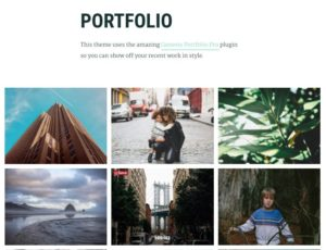 Maker Pro WordPress Genesis Portfolio Theme