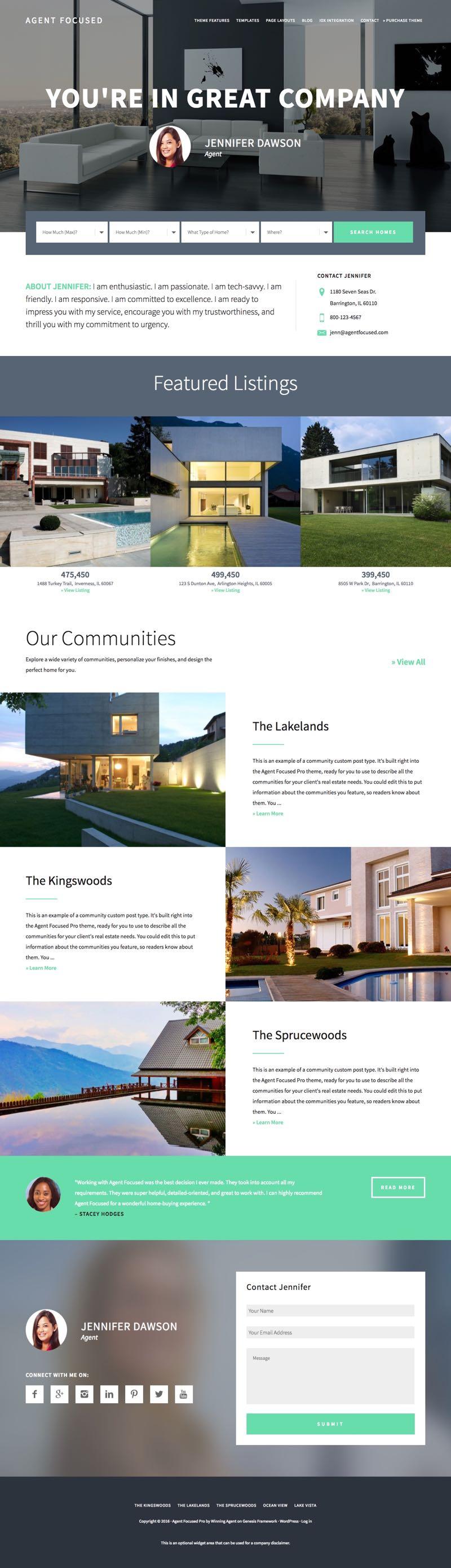 agent-focused-pro-wordpress-real-estate-listing-theme