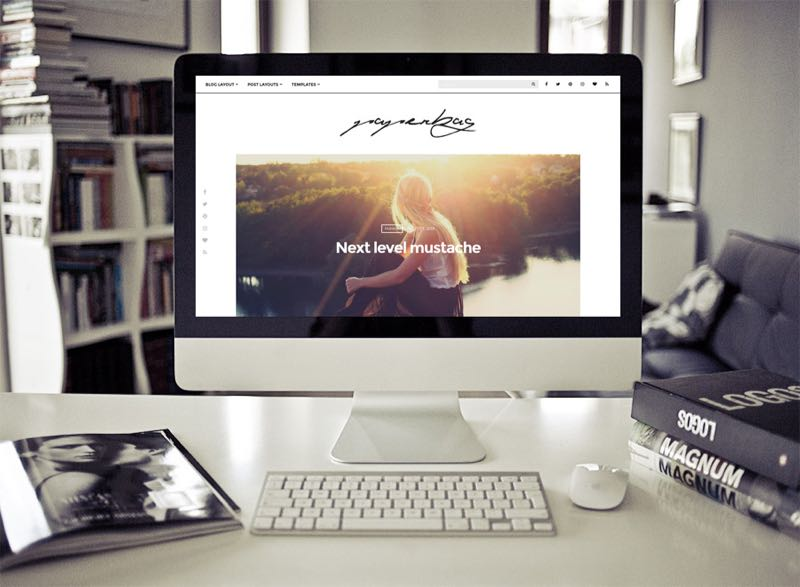 Paperbag WordPress Stunning Lifestyle & Fashion Blogging Theme