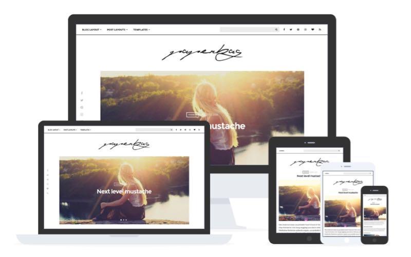 Paperbag WordPress Theme