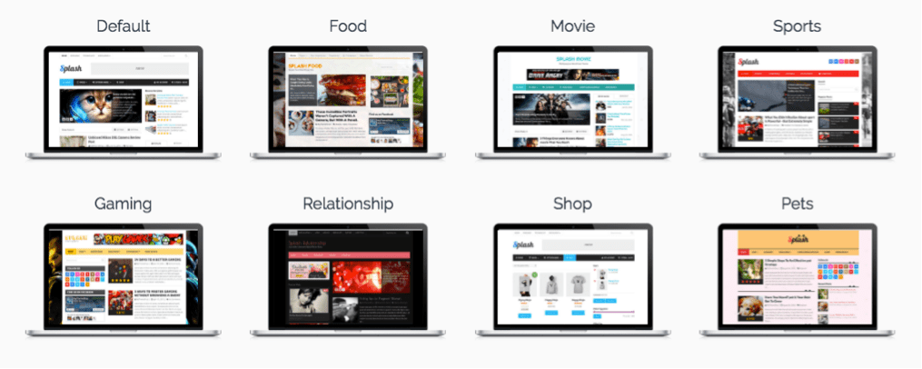 Advanced and Flexible Homepage Layout