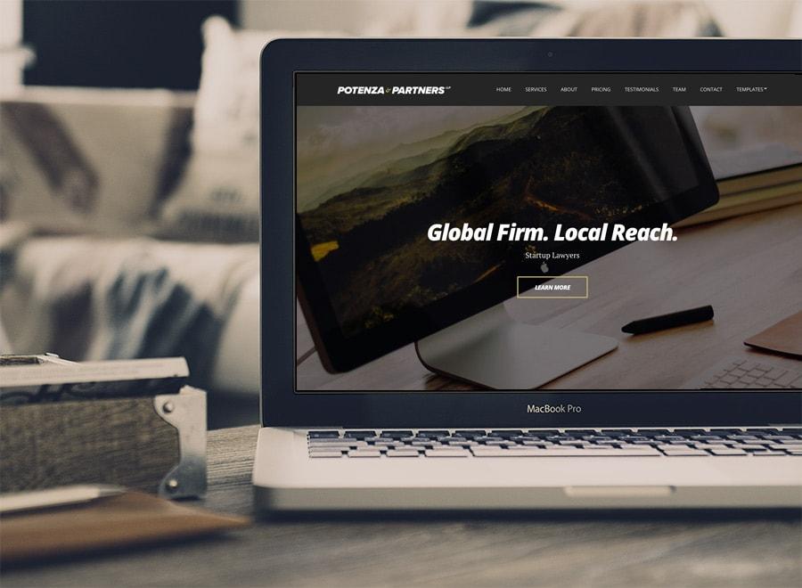 Potenza WordPress Business Service Theme