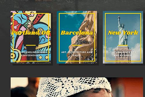 Wayfarer WordPress Theme - Featured Slider
