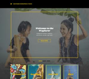 Document Your Travel Story with Wayfarer WordPress Theme