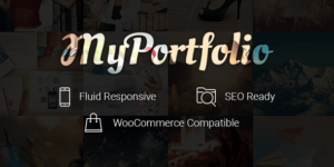 myPortfolio WordPress Portfolio Theme for Showcase Works