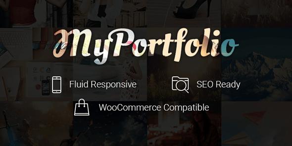 myPortfolio WordPress Portfolio Theme for Showcase Works