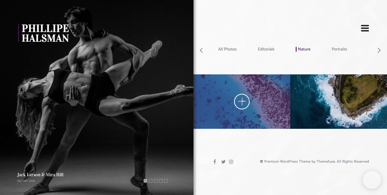 Shutter WordPress Photography Theme