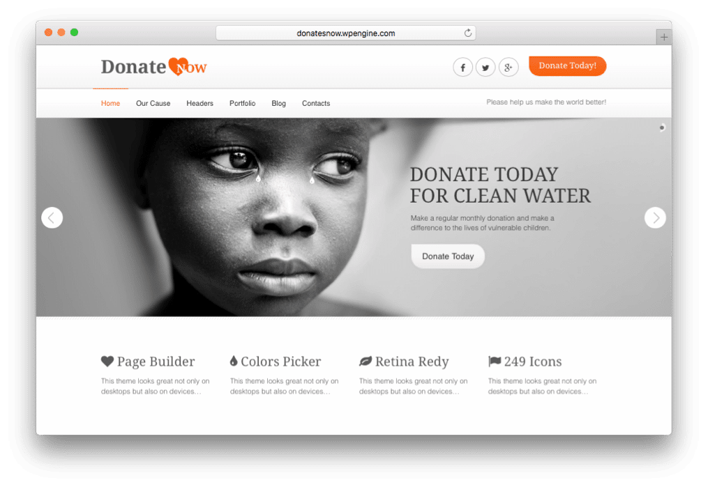 19 Best WordPress Non-Profit Themes for Charity, NGO & Donation