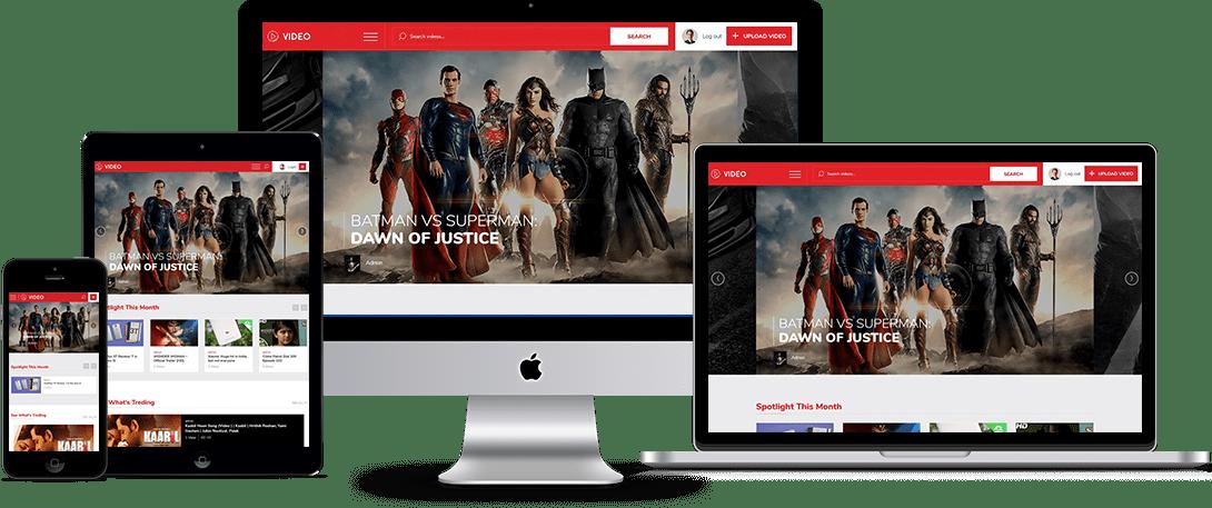 Vivo WordPress Theme for Videos Sharing Portal
