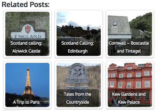 Contextual WordPress Related Posts Plugin
