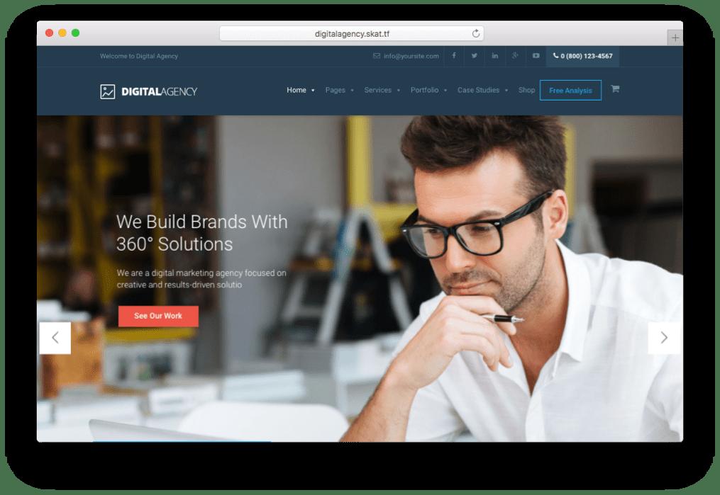 Digital Agency SEO & Digital Advertising Theme for WordPress