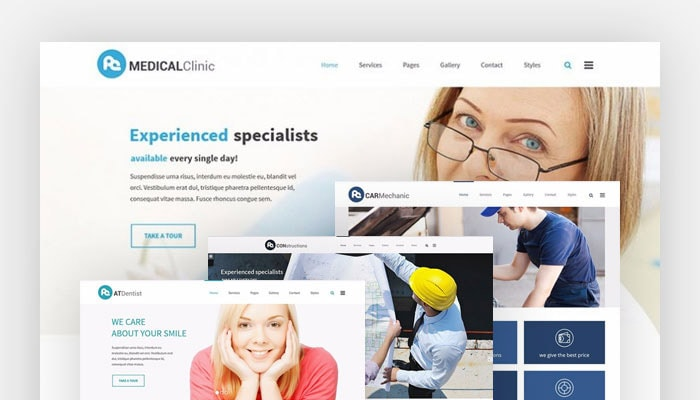 Services Multipurpose WCAG WordPress theme