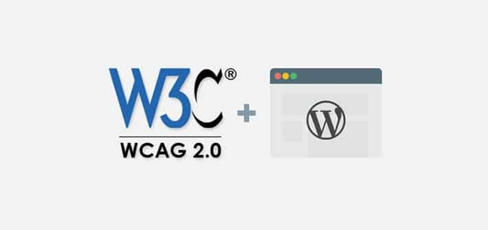 How to get WCAG Compliance with WordPress Theme?