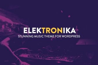 Elektronika WordPress Theme for Music & Entertainers