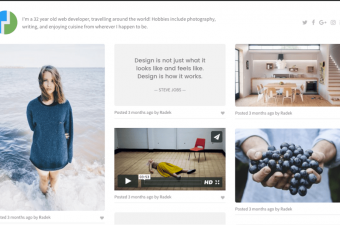 Pinpoint WordPress Theme for Inspiration Board