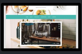 Tasteful WordPress Theme for Chefs & Foodies