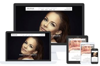The Styler WordPress Theme for Beauty Services