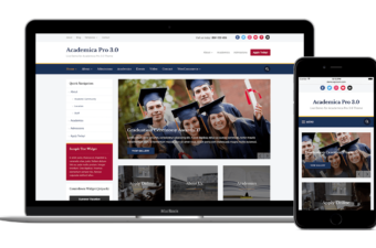 Academica Pro 3.0 WordPress Theme for Educational Institute