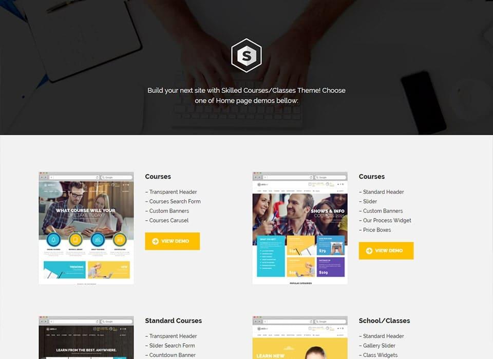 Skilled WordPress Educational Theme