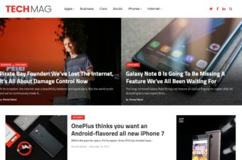 TechMag WordPress Theme for Publishers & Bloggers