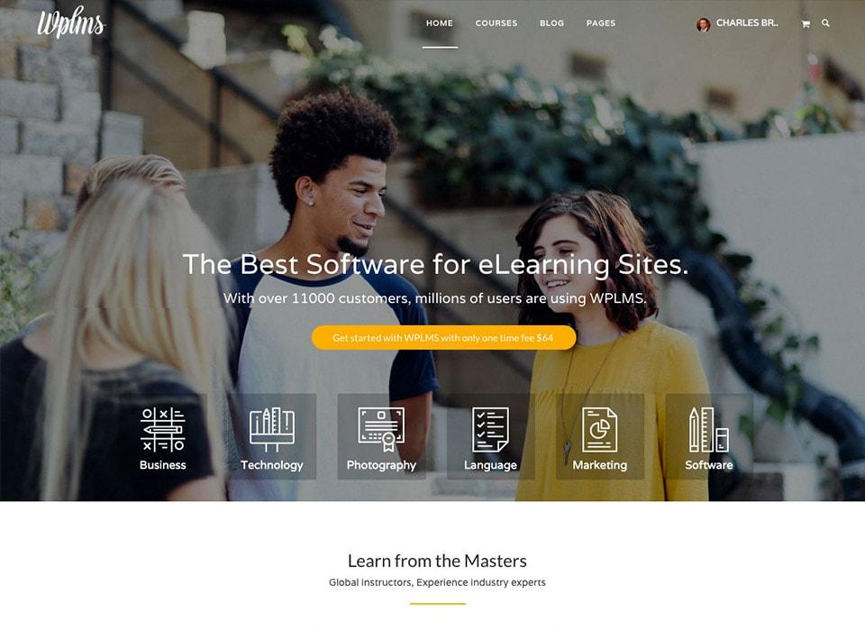 WPLMS WordPress eLearning Education Theme