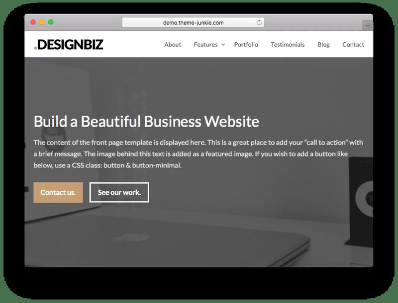 DesignBiz WordPress Theme-min