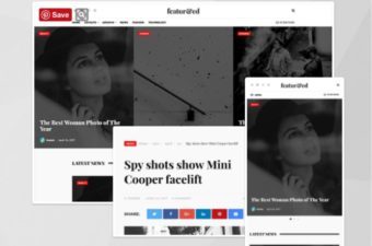 Featured WordPress Theme for Online Publication
