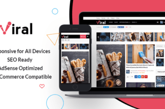 Viral WordPress Theme for Social Media Marketers