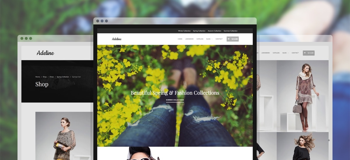 Adeline WordPress Theme