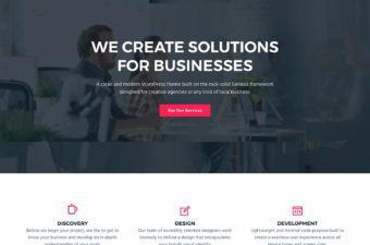 Business Pro WordPress Theme for Creative Agency