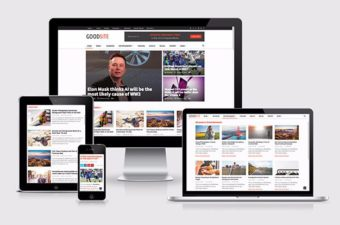 GoodSite WordPress Theme for Publishing News